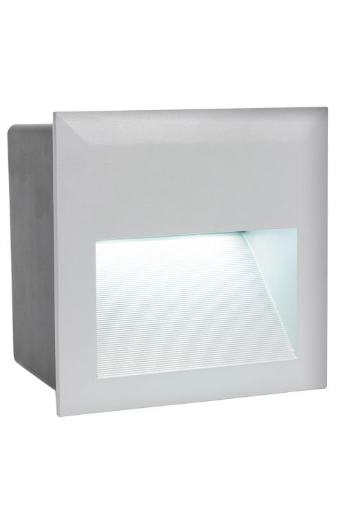 LED zunanja vgradna stenska svetilka Eglo Zimba (3,7 W, 14 x 14 cm, 400 lm, dnevno bela svetloba)