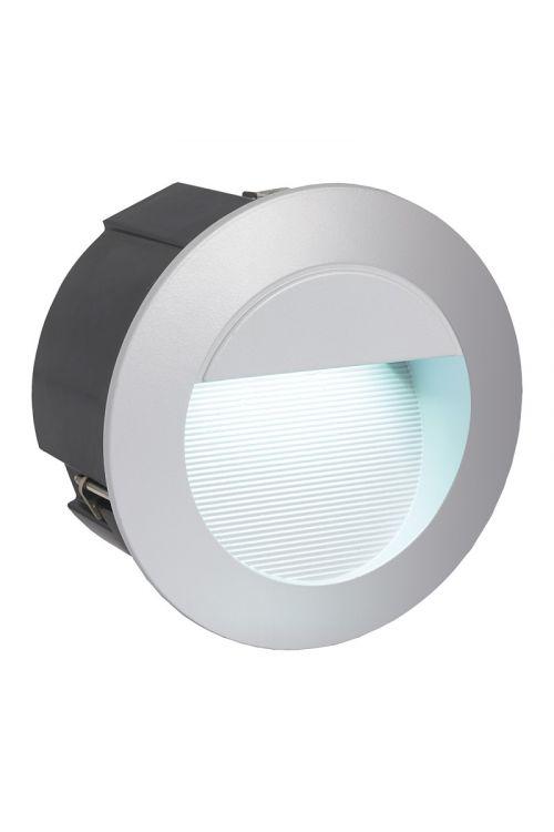 LED zunanja vgradna stenska svetilka Eglo Zimba (2,5 W, premer: 12,5 cm, 320 lm, dnevno bela svetloba)