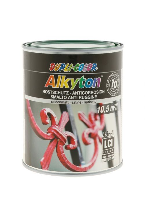 Premaz za kovino DC Alkyton RAL 6005 satin mat  (750 ml, na alkidno-uretanski osnovi, 4v1: osnovni premaz, zaščita proti rji, barva in tesnilo)_2