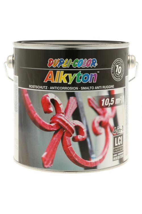 Premaz za kovinoDC Alkyton RAL 9005 mat (2,5 l, na alkidno-uretanski osnovi, 4v1: osnovni premaz, zaščita proti rji, barva in tesnilo)_2