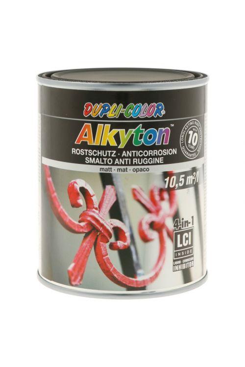 Premaz za kovino DC Alkyton RAL 9005 mat  (750 ml, na alkidno-uretanski osnovi, 4v1: osnovni premaz, zaščita proti rji, barva in tesnilo)_2