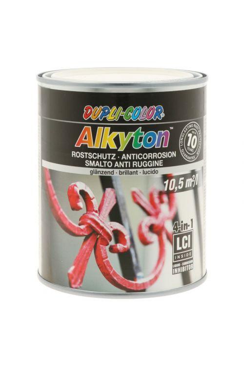Premaz za kovino DC Alkyton RAL 9010 visok sijaj  (750 ml, na alkidno-uretanski osnovi, 4v1: osnovni premaz, zaščita proti rji, barva in tesnilo)_2