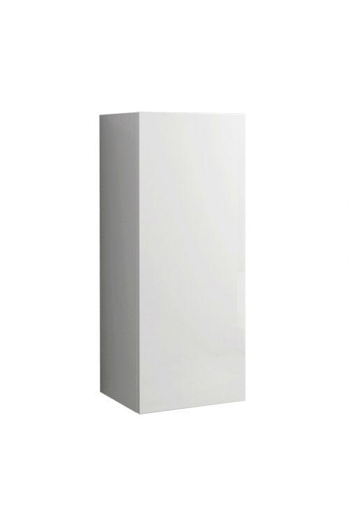 Viseča omarica Elise (30 x 27 x 74 cm, bela, sijaj)