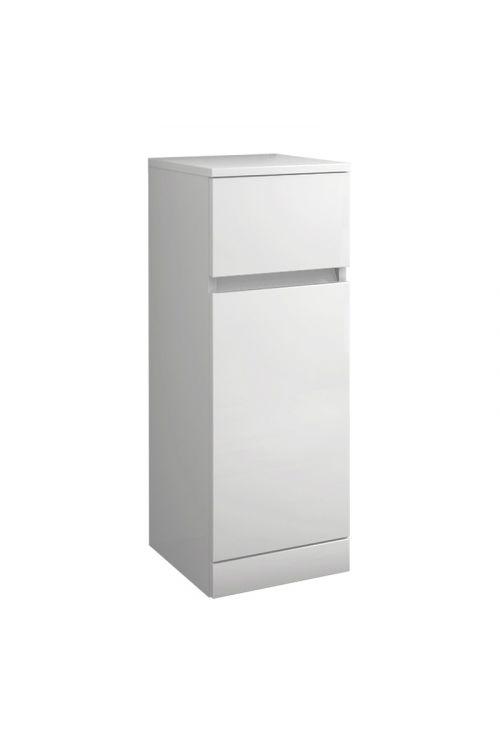 Stranska omarica Elise (30 x 33,5 x 82 cm, bela, sijaj)