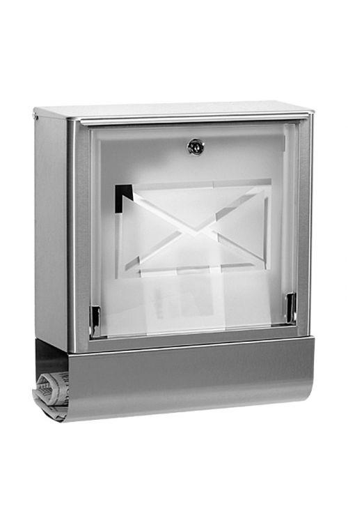 Poštni nabiralnik Portaferm Atlanta (13,8 x 35,5 x 40,2cm, legirano jeklo)