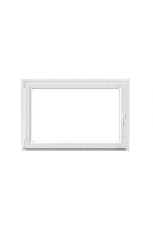 Okno Solid Elements (1200 x 800 mm, PVC, belo, levo, trojna zasteklitev)