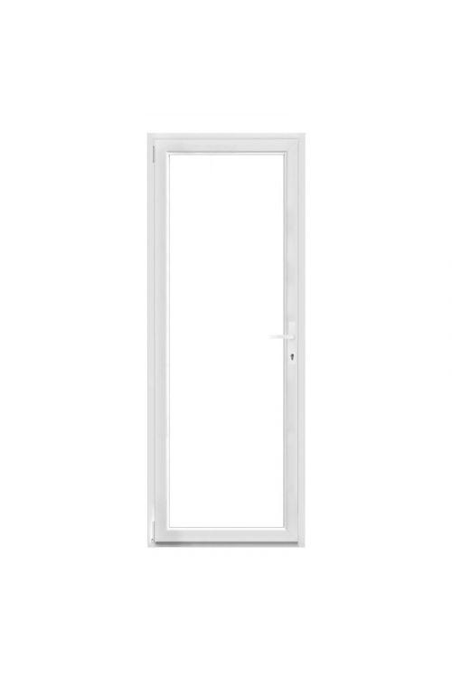 Balkonska vrata Solid Elements (2100 x 1000 mm, PVC, bela, leva)