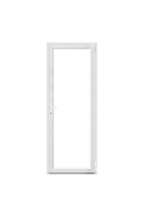 Balkonska vrata Solid Elements (1000 x 2100 mm, PVC, bela, desna)