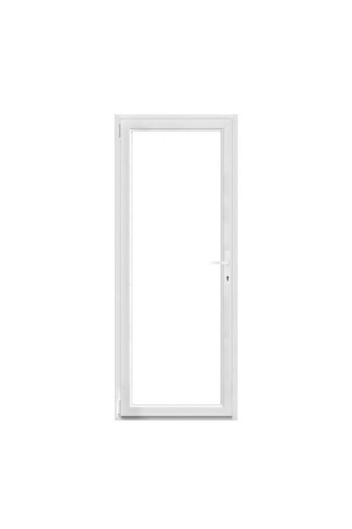 Balkonska vrata Solid Elements (800 x 2000 mm, PVC, bela, leva)