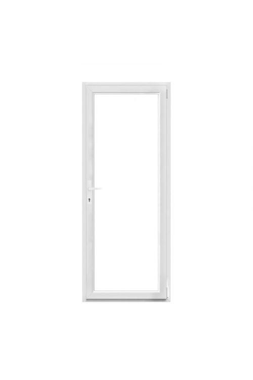 Balkonska vrata Solid Elements (800 x 2000 mm, PVC, bela, desna)