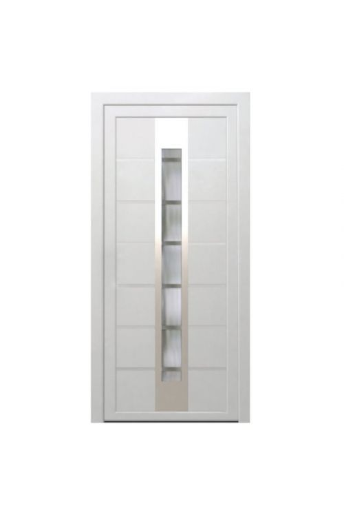 Vhodna vrata Solid Elements Maribor (1000 x 2100 mm, PVC, leva, 5-komorni profil debeline 7 cm)