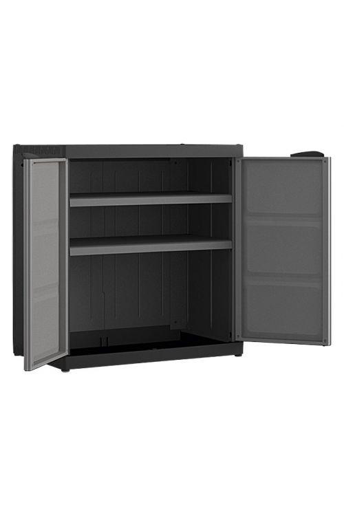Plastična omara Regalux Systema (v 93 x š 89 x g 54 cm, nosilnost: 25 kg/polico)