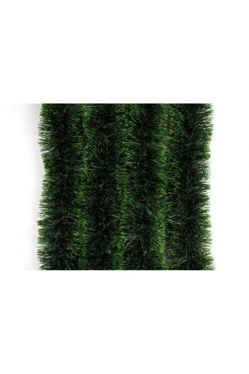 Zelena girlanda s svetlimi konicami (2 m, premer: 10 cm)
