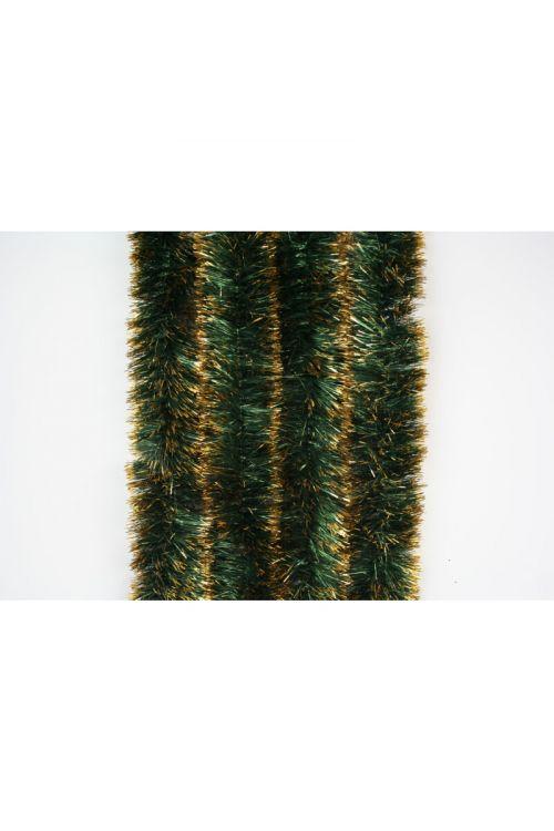 Zeleno-zlata girlanda (2 m, premer: 7 cm)