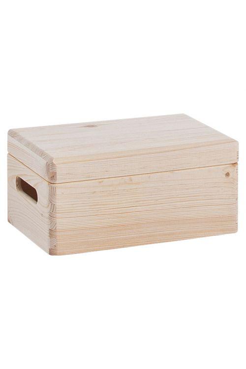 Večnamenski zaboj Zeller Present (30 x 20 x 14 cm, borov les)
