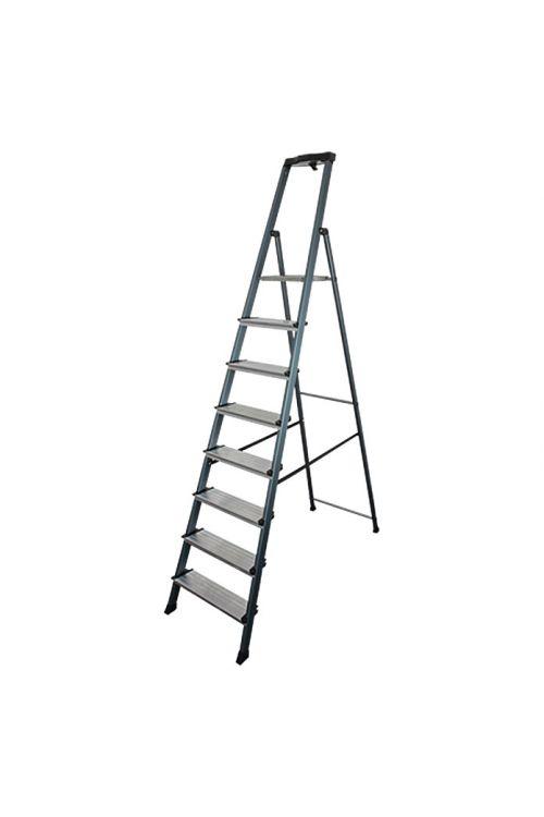 Aluminijasta lestev KRAUSE 7+1 (delovna višina: 3,7 m, nosilnost: 150 kg)
