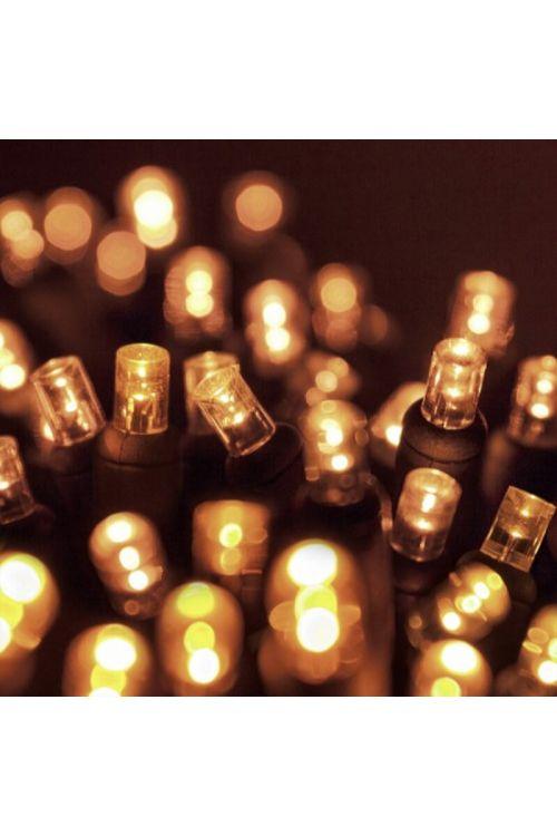 LED lučke Neplast (2000, veriga, toplo bela)