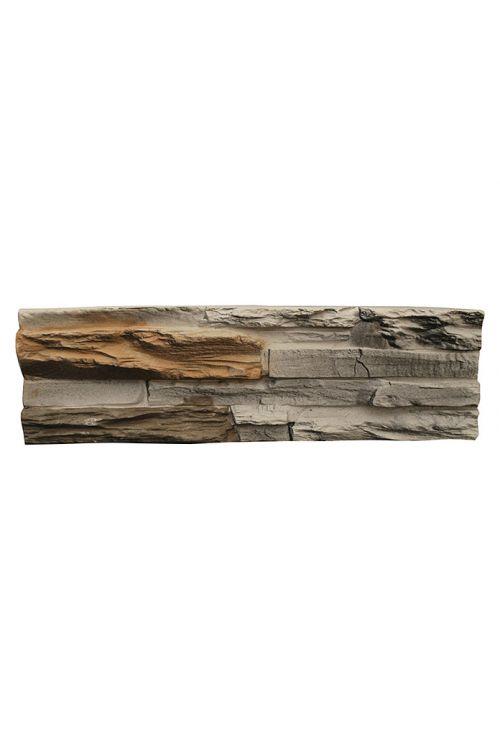 Stenska obloga Ironmont (39 x 11,2 cm, rjava/bež, imitacija kamna)
