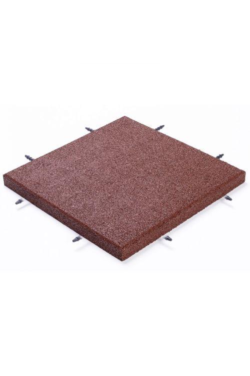 Gumijasta plošča za otroška igrala (50 x 50 x 4 cm)