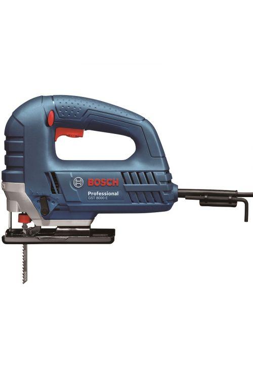 Vbodna žaga BOSCH Professional GST 8000 E (710 W, nastavljiv kot rezanja: do 45°, 3.100 vbodov/min)