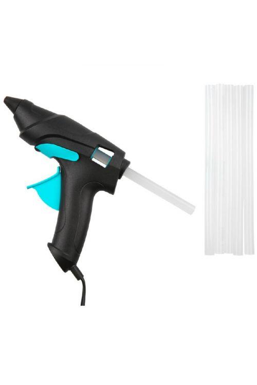 Pištola za vroče lepljenje Pattex (70 W, premer vložkov: 11 mm, s 6 vložki)
