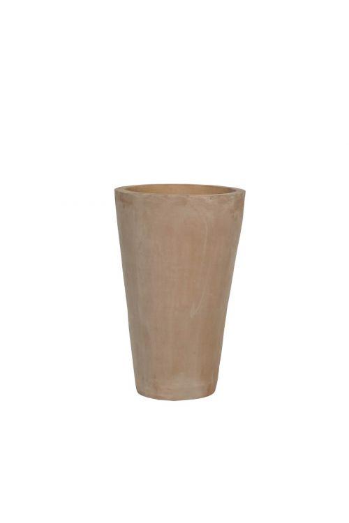Okrogla cvetlična vaza (20 x 34 cm, rjava)