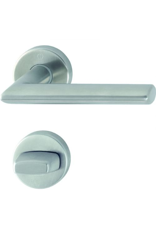 Kljuka za vrata Hoppe Stockholm (WC, nerjavno jeklo, debelina vrat: 40-45 mm)