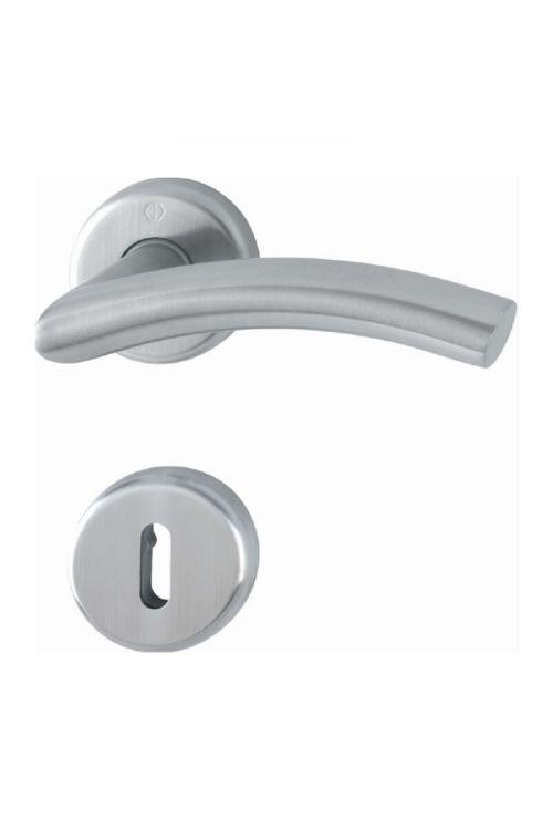 Kljuka za vrata Hoppe Aberdeen (ključ, nerjavno jeklo, debelina vrat: od 38-42 mm)