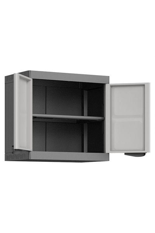 Viseča plastična omarica Regalux Systema (v 58 x š 65 x 39 cm, nosilnost: 10 kg/polico)