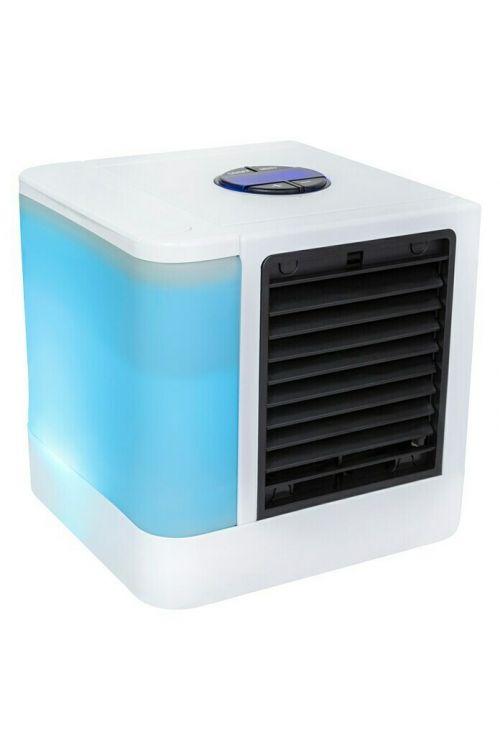 Hladilna naprava Proklima (5 W, 14 x 14 x 14,5 cm, bela, USB)