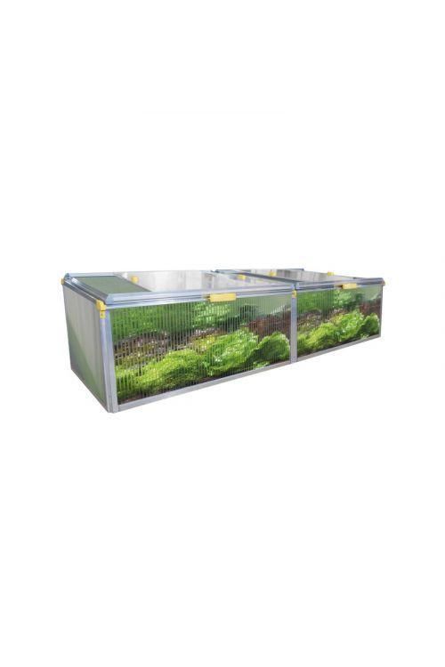Topla greda JUWEL Biostar (200 x 76,5 cm, hladilni okvir, nerjaveč aluminij)