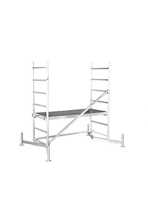 Delovni oder KRAUSE ClimTec (delovna višina: 3 m, nosilnost 180 kg, površina odra: 0,9 m²)