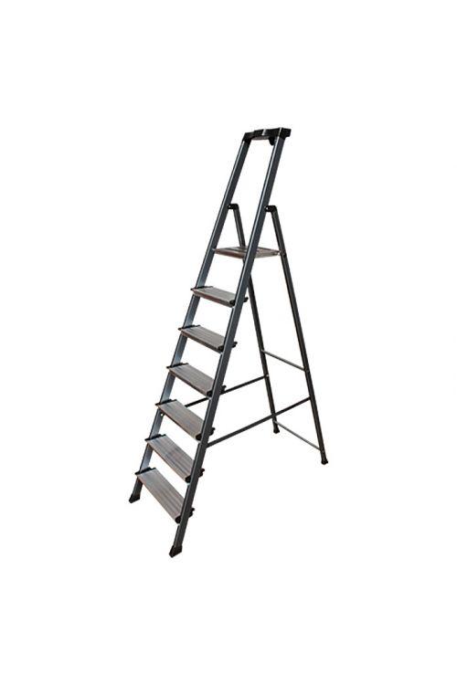 Aluminijasta lestev KRAUSE 6+1 (delovna višina: 3,5 m, nosilnost: 150 kg)