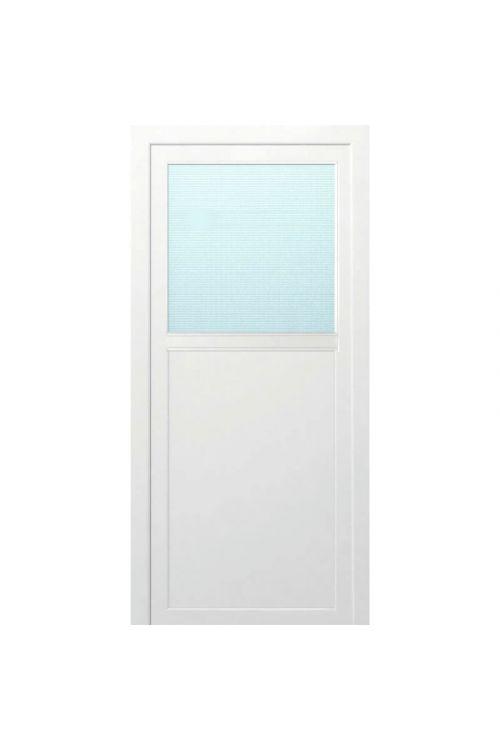 Večnamenska vrata Solid Elements Bovec  (980 x 1980 mm, PVC, bela, leva, brez kljuke in cilindra)