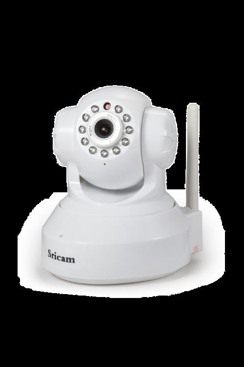Brezžična IP kamera SP005 (resolucija 1.920×1.080 pikslov, kot snemanja: 75°, domet 10 m)