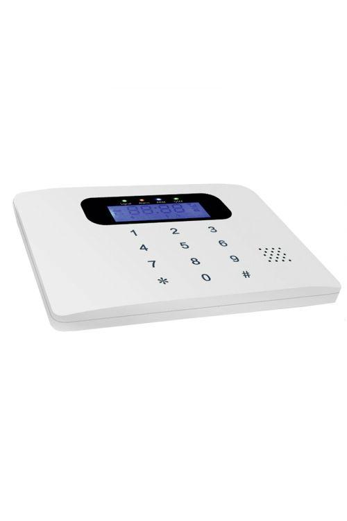 GSM alarmna naprava MT 30 C (14 x 10 x 12 cm, 5 V, 433 MHz, Android in iOS aplikacija)