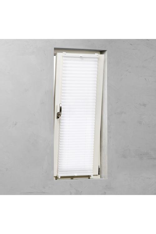 Plise senčilo za okna Basic (130 x 90 cm, belo)