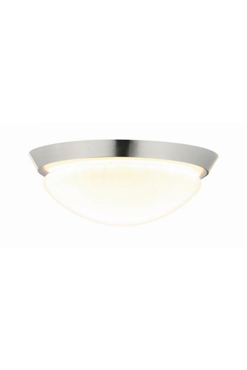 LED STROPNA SVETILKA IXA (18 W, E27, IP44, premer 31 cm, kovina, akril)
