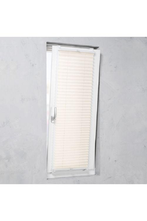 Plise senčilo za okna Basic (130 cm x 90 cm, bež)
