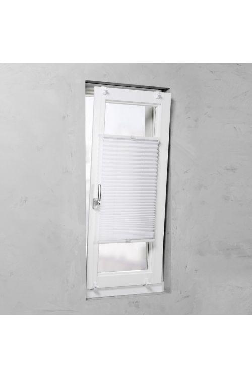Plise senčilo za okna Basic (130 x 45 cm, belo)