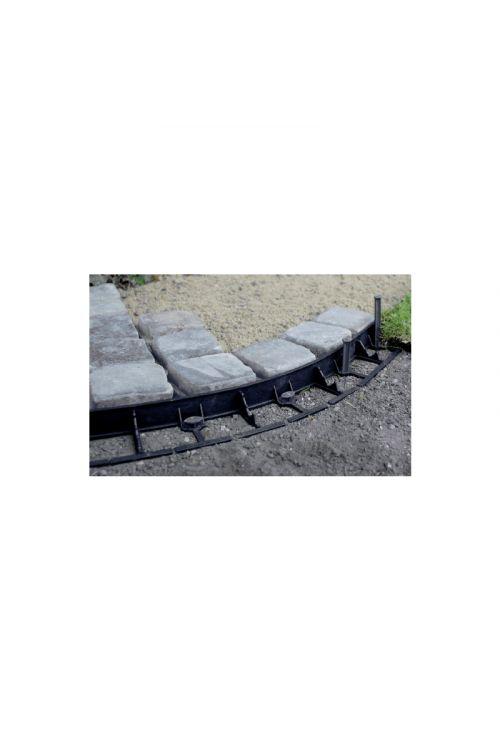 Pritrjevalni količek za robnik za travo Interboard 45 (12 kom.)