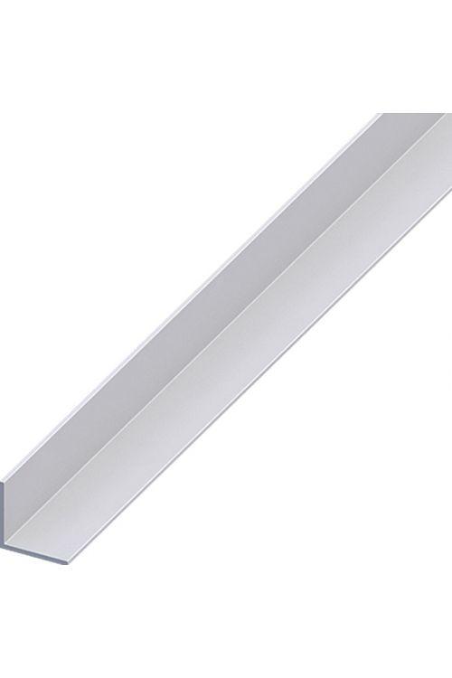 Kotni profil Kantoflex (1.000 x 20 x 20 mm, debelina: 1,5 mm, aluminij, eloksiran, srebrn)