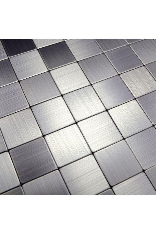 Samolepilni mozaik (30,5 x 30,5 cm, srebrna)