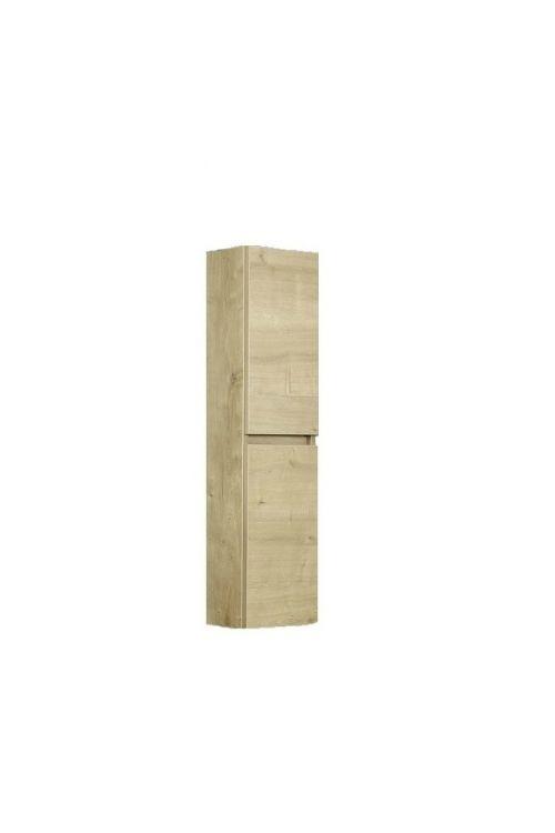 Visoka stranska omarica Elegant (25 cm, hrast)