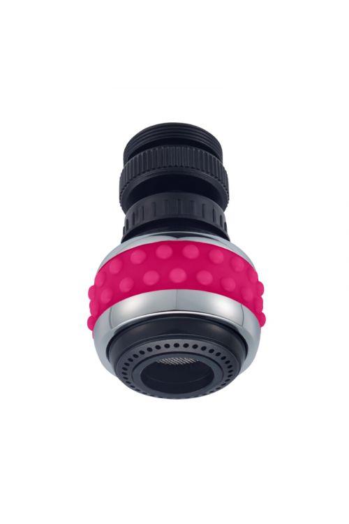 Zglobni perlator - kuhinjska prha Bubble Stream (M22x1/M24x1, roza)