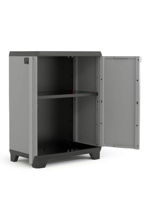 Plastična omara KETER Stilo (v 90 x š 68 x g 39 cm, nosilnost: 15 kg/polico)