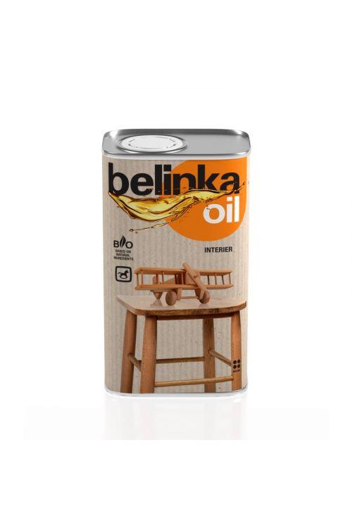 Olje za les BELINKA INTERIER (500 ml, na osnovi modificiranih rastlinskih olj z dodanimi voski)