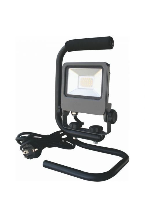 LED PRENOSNI REFLEKTOR (20 W, 1.700 lm, IP65, d 28 x š 16,6 x v 18 cm, črni)