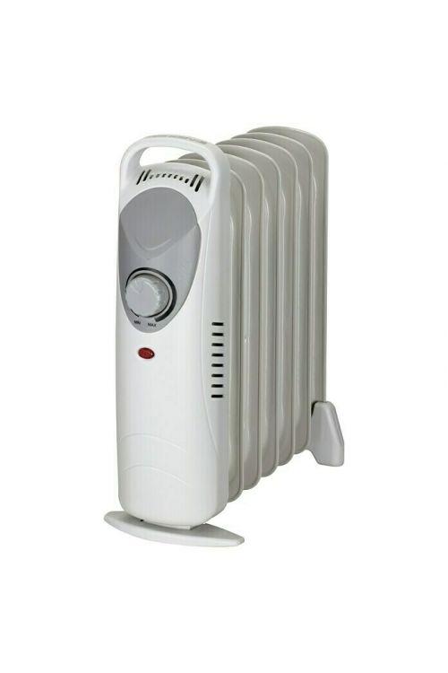 Oljni radiator Voltomat HEATING (800 W, d 37 x š 14 x v 37 cm, sive barve)