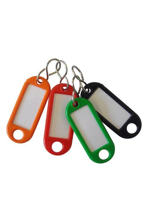 Obesek za ključe (4 kosi, umetna masa)